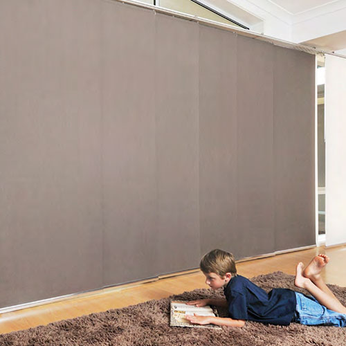 Stylish Panel Blinds from the Blind Shop in Canberra