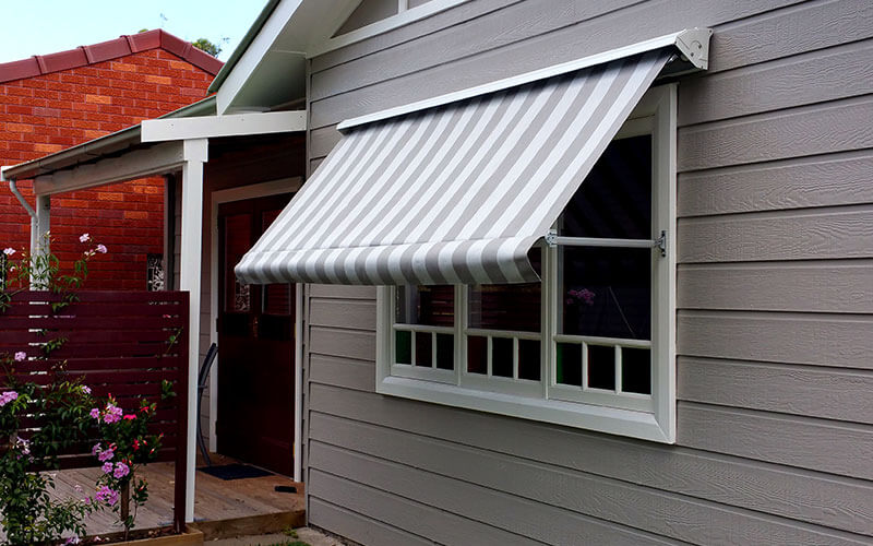 A Canberra Home With Pivot Arm Awning From The Blindshop